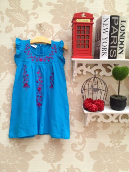 Lucy Blue Dress - IDR 165.000