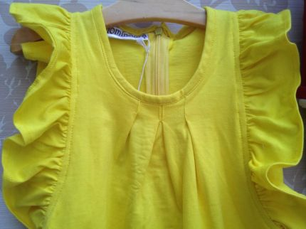 Chloe Yellow Dress - IDR 165.000