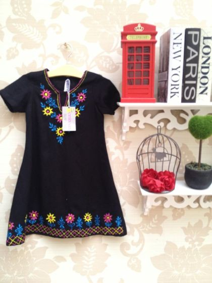 Alisha Black Dress - IDR 165.000
