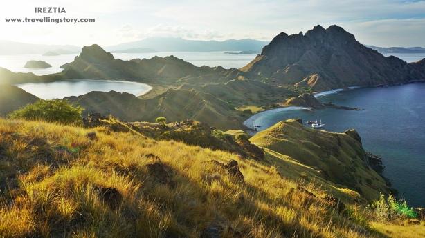 view of padar island