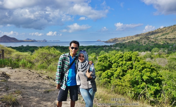 Top of Rinca Island
